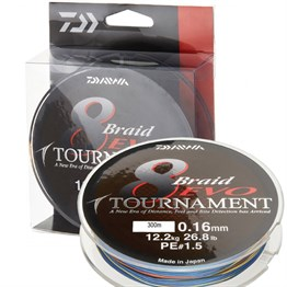 Daiwa Tournament 8B Evo MC 300m İp Misina