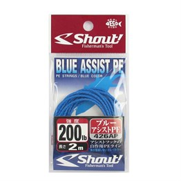 Shout Blue Assist PE Line Assist İpi