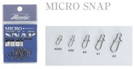 Bassday Micro Snap Klips # No:1 - 15 Adet
